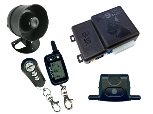 K9 K9SOL 2-Way LCD Pager Remote Security Car Alarm and Keyless Entry