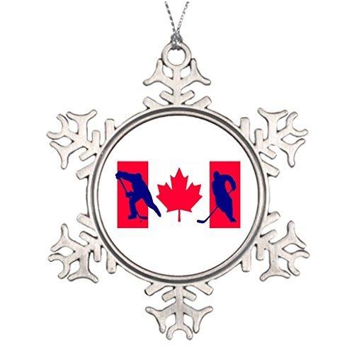 VinMea Snowflake Metal Ornament Tree Decorating Ideas Canada Snowmen Snowflake Ornaments