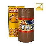 Sika Multiseal, Bande d'étanchéité autocollante résistante à la déchirure, 300mm x 10m, Terre cuite