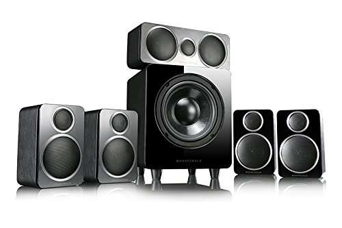 Wharfedale DX-2 5.1 Lautsprecherset 5.1 Kanäle Schwarz - Lautsprechersets (5.1 Kanäle, Heimkino, Schwarz, 60 W, 120-20000 Hz, 84 dB)