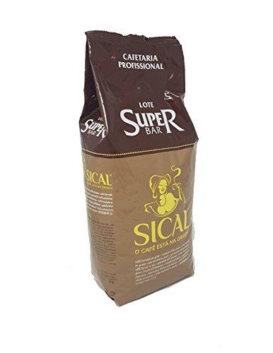 Sical professionelle Kaffeebohnen Lote Super Bar Portugiesisch geröstet 1kg von Nestlé