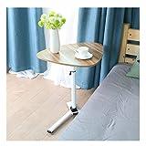 swq tavolo da sovraccarico mobile, ascensore a triangolo ruota il vassoio alimentare del vassoio for la cura del rack del divano del divano letto, for la camera da letto for laptop
