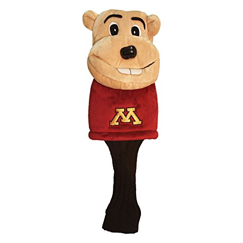 Team Golf NCAA Minnesota Golden Gophers Mascot Golf Club Headcover, Fits most Oversized Drivers, Extra Long Sock for Shaft Protection, Officially Licensed Product