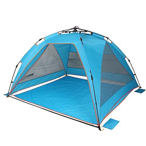 vert avec gris bordure Charles Bentley 6 Personne Camping Tente tunnel