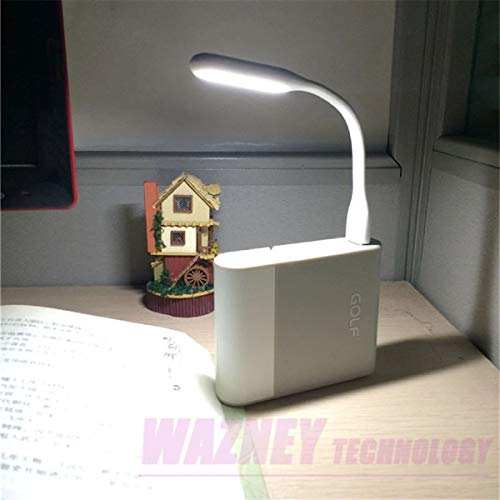 3 Stück USB LED Lampe Leselampe (Orange)