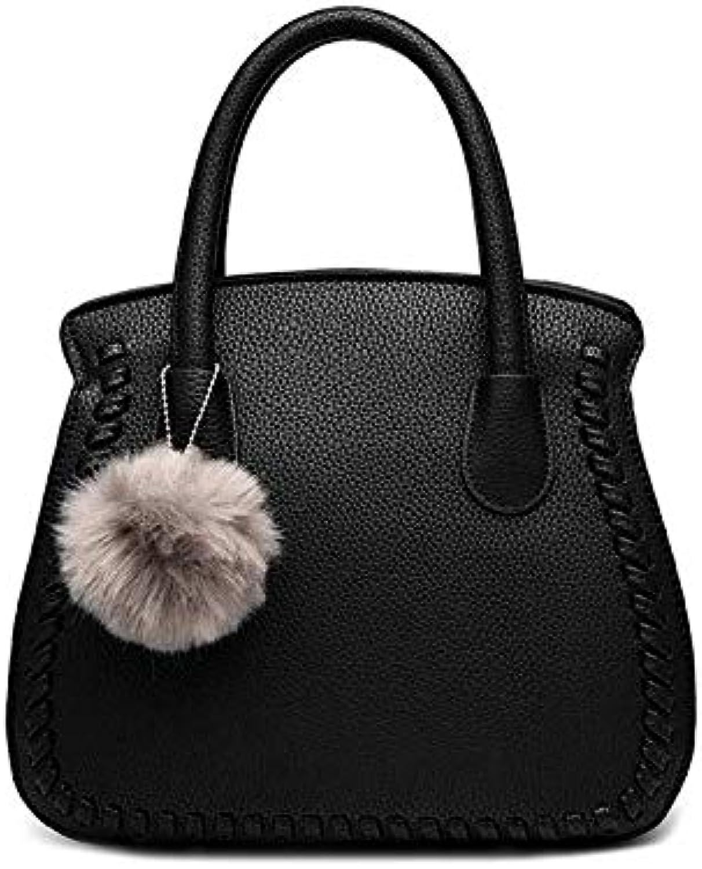 Tasche weibliche Neue weibliche Tasche europäischen und und und amerikanischen Temperament Stereotype Mode Handtaschen Messenger Schultertasche B07QFN24RF  Menschliche Grenze 28f852