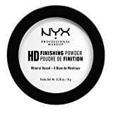NYX Professional Makeup Finishing Powder High Definition, Polvere Compatta, Finish Matte, Riduce le Zone Lucide, Translucent, Confezione da 1