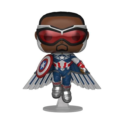 Funko 51649 POP Marvel: The Falcon & Winter Soldier - Captain America (WMT)