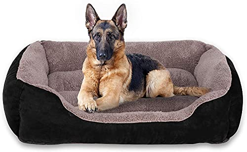 Utotol Dog Beds for Medium Dogs , Washable Pet Sofa Bed Firm Breathable Soft Couch for Small Puppies Cats Sleeping Orthopedic Beds
