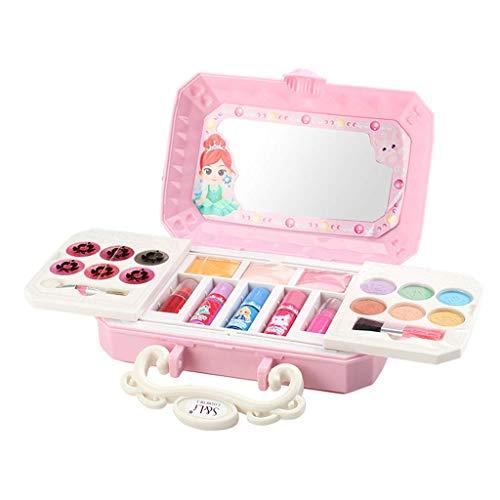 Tubayia Maletín de maquillaje para niños y niñas (b)