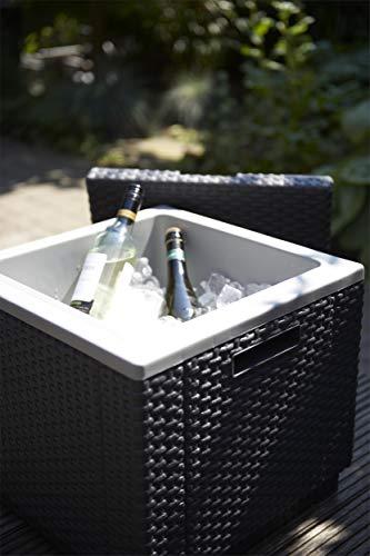 Allibert Beistelltisch/Kühlbox Ice Cube 40 Liter, graphit - 5