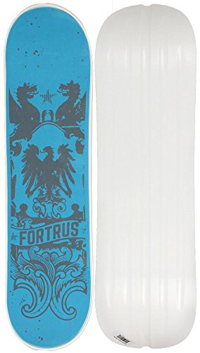 Fortrus Kingdom Snow Skate Snowboard Deck, White, 35'