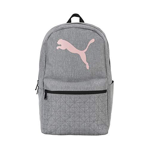 PUMA Damen Rhythm Backpack Rucksack, Mittelgrau, Einheitsgröße