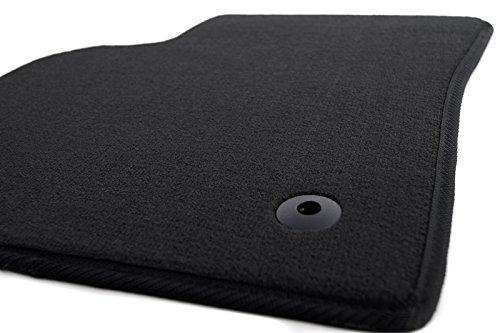 Fußmatte Fahrermatte S80 II / V70 III Velours Original Qualität Autoteppich Fahrerseite schwarz