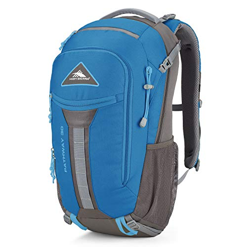 High Sierra Pathway Internal Frame Hiking Pack, 30L, Mineral/Slate/Glacier