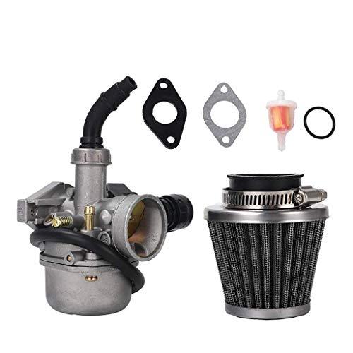 BLTR PZ19 carburador con la Herramienta de Ajuste del carburador 35MM Filtro de Aire del carburador de 19 mm Cable del estrangulador de Carb for 50cc De Confianza