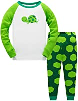 TEDD Boys Pyjamas Dinosaur Nightwear Cotton Toddler Clothes Kids Sleepwear Winter Long Sleeve Christmas Pjs Sets 2 Piece...