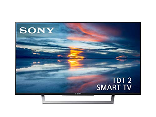 Sony KDL-32WD753BAEP - Televisor de 32' (Full HD, Smart TV, TDT2, Wi-Fi, X-Reality Pro, Motionflow, HDMI, Salida de Auriculares, USB) Negro