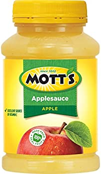 12-Pack Mott's Applesauce, 24 Ounce Jar