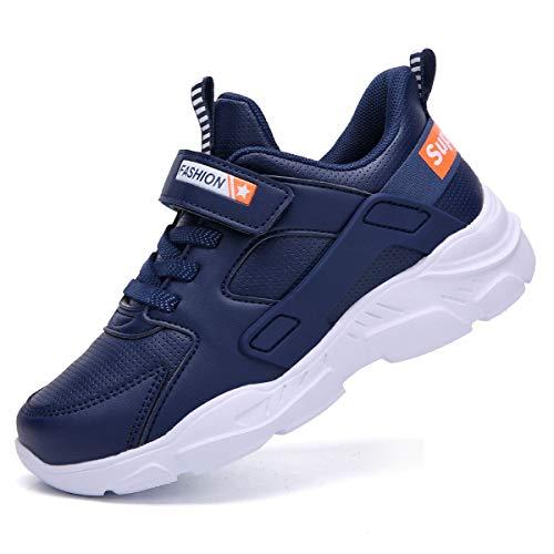 HSNA Kinderschuhe Sportschuhe Jungen Mädchen Turnschuhe Hallenschuhe Sneakers(988-p Blau 32 EU)