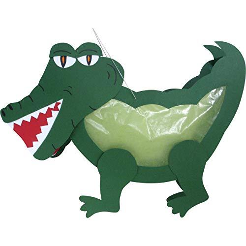 Prell Laternen Bastelset Krokodil, 4 Stück