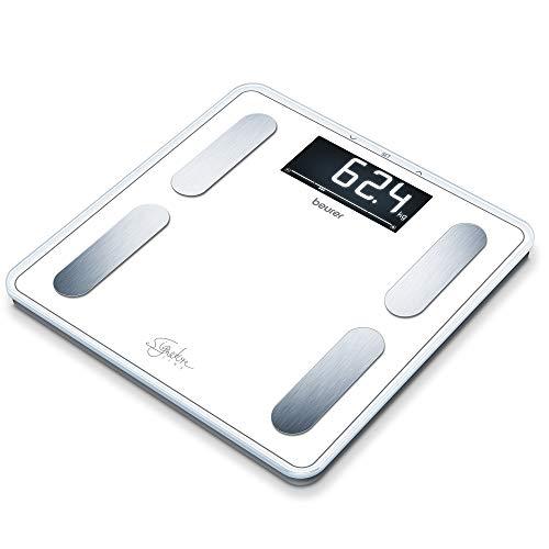 Beurer BF 400 Signature Line White Bilancia Diagnostica con Portata fino a 200 kg, Colore Bianco