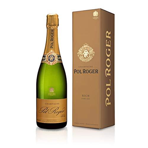 Pol Roger Rich Demi Sec in Geschenkverpackung demi-sec (0,75 L Flaschen)