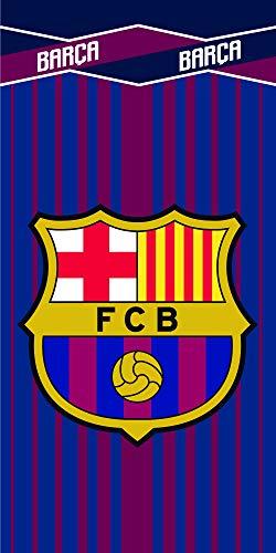 FC Barcelona Toalla Microfibra FCB203, 70 X 140 cm, Azulgrana