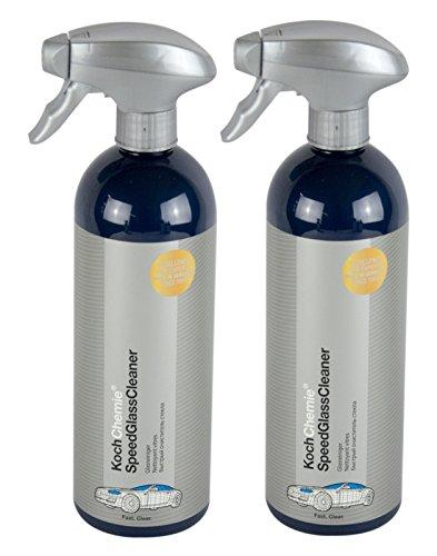 Koch Chemie 2X Speed Glass Cleaner Glasreiniger Scheibenreiniger Reiniger 750 ml