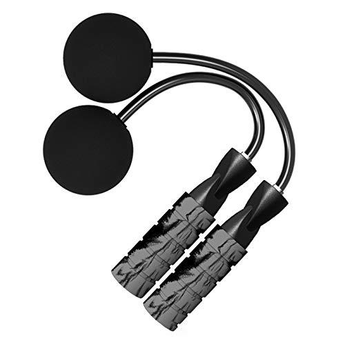 N&A Cuerda de Saltar Gris Cuerda de Saltar Inalámbrica Entrenamiento Físico para Interiores y Exteriores Pérdida de Peso para Deportes Fitness Pérdida de Peso para Deportes Fitness