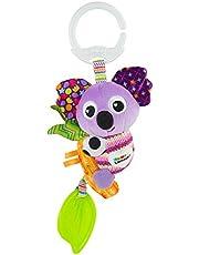 LAMAZE mini klips i idź koala zabawka dla dzieci, klips do wózka dziecięcego zabawka i wózek zabawka, sensoryczna zabawka dla noworodka dla niemowląt chłopców i dziewcząt od 0 do 6 miesięcy