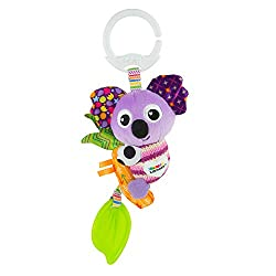 LAMAZE'S MINI RANGE - On-The-Go is Lamaze's range of compact soft baby toys that feature all of the sensory and fun features of our classic range - easier for little hands to grip on-the-go! BABY SENSORY TOY - Lamaze's range of mini baby soft toys fe...