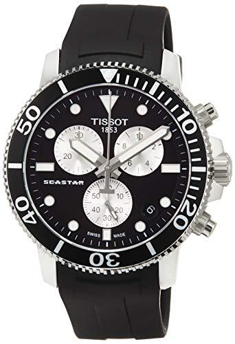 Tissot Herren-Uhren Analog Quarz One Size Kautschuk 87603199