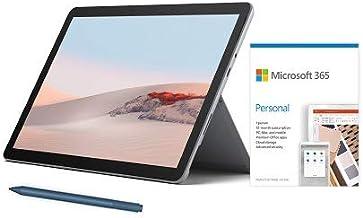 "Microsoft Surface Go 2 10.5"" Intel Pentium Gold 4GB RAM 64GB eMMC Platinum + Surface Pen Ice Blue + Microsoft 365 Personal..."