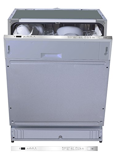 PKM DW12-7FIA++ Silber Einbau-Geschirrspüler, vollintegrierbar, 60 cm, A+, 12 Maßgedecke