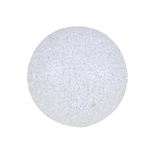 Leuchtkugel mit Wechsel-LED warmweiß/weiß 4Funktionen Verschiedene Größen Kugel, Größen:Ø 14cm