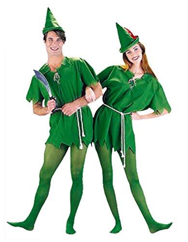 Peter Pan Disfraz Dr Velcro Cuento De Hadas Duende Fancy Dress