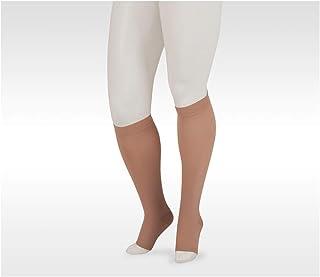 Juzo Dynamic Varin 3511 Knee-High 20-30mmhg Silicone Top Band Open Toe Sock for Men & Women