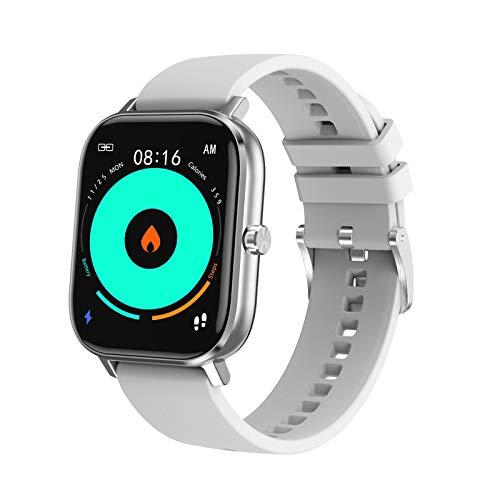 AYZE Relojes Inteligentes Hombre GPS Pantalla HD De 1,75', Monitorización De Datos De Sueño/Salud, PronóStico del Tiempo, Marcación Personalizada, Envío De Información, Smart Watch Men 3