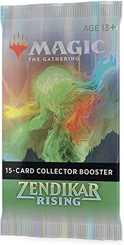 Magic The Gathering- Zendikar Rising coleccionista (15 Tarjetas Premium por Paquete). (Wizards of The Coast C75360000)