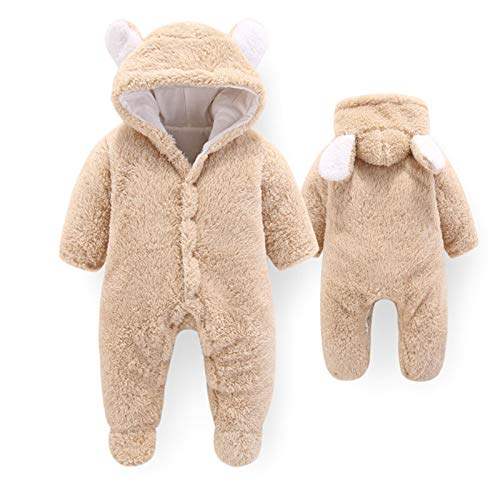 Baby Hooded Crawling Suit, Kinderwagen Winter Warm Snow Suit, Cotton Wool Hooded Jumpsuit,Baby Hooded Crawling Suit, Baby Stroller Winter Warm Snow Suit, Cotton Wool Hooded Jumpsuit