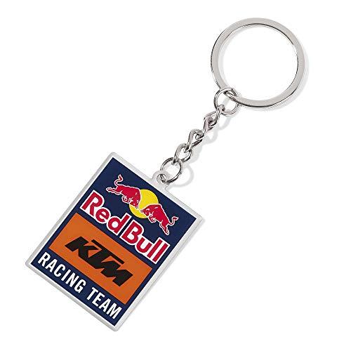 Red Bull KTM Emblem Schlüsselanhänger, Mehrfarben Unisex One Size Schlüsselring, Red Bull KTM Factory Racing Original Bekleidung & Merchandise