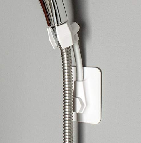Fealkira Nail Gratis Handheld Douche Hoofd Houder Douche Verstelbare Beugel Wandsteun voor Badkamer met Zelfklevende Stick Disc New Adhesive Holder-01