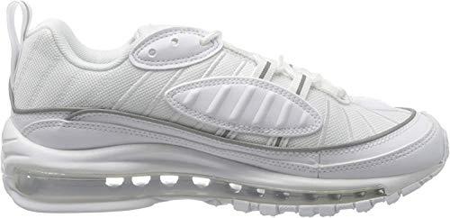 Nike W Air MAX 98, Zapatillas de Running para Mujer, Blanco (White/White/White 114), 38 EU