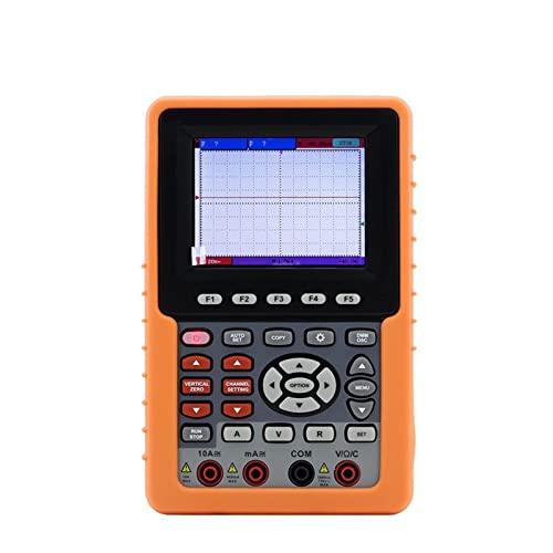 HEQIE-YONGP Osciloscopio Digital Osciloscopio de Mano de Mano osciloscopio Vc2100 Un Solo Canal 100MHz con función multímetro.