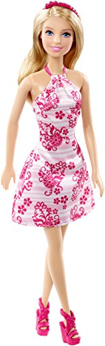 Barbie in Pink/White Floral Dress, Target Exclusive
