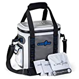 CACTUS Mojave 23 Party Kit - Insulated Soft Cooler/Non-Permeable/Long Lasting Cold Tech + Free Bonus Items: Soft Cold Pack, Neo Drink Holders, Stainless Opener w/Magnetic Front Panel (Curacao Blue)