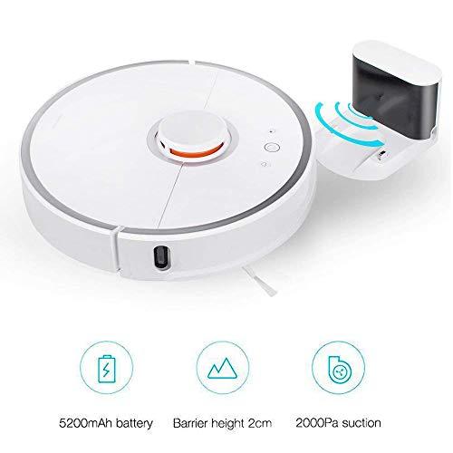 Robot aspirante Xiaomi Roborock S50(depolveratore, spazzatrice, funzione di pulizia, sensori LDS, controllo app) bianco