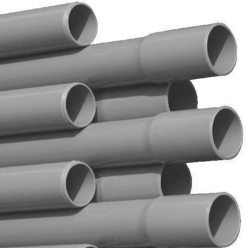 SIBO PVC Druckrohr 1m Grau 32x1,6mm Außendurchmesser bis 7,5Bar TOP Qualität