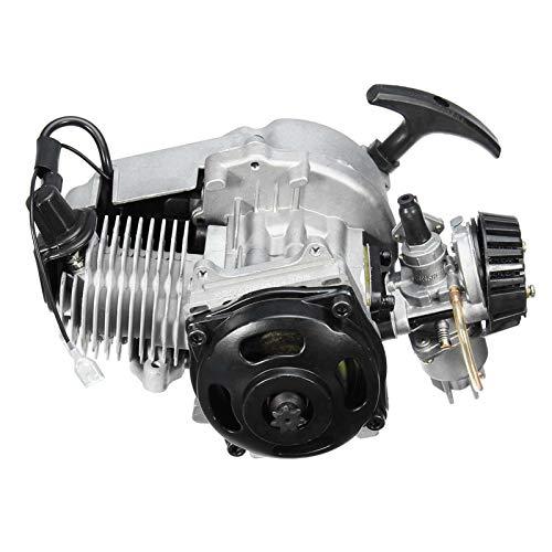 43cc 47cc 49cc 2-Stroke Motor Motor Motor STARTER STARTER PARA LA DIRECCIÓN BICICLETA SCOOTER ATV ATV Quad (Color : A)